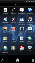 Sony LT22i Xperia P - Wifi - configuration manuelle - Étape 2