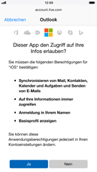 Apple iPhone 8 - E-Mail - Konto einrichten (outlook) - Schritt 8