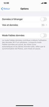 Apple iPhone X - iOS 14 - Réseau - Comment activer une connexion au réseau 4G - Étape 5