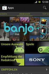 Sony Xperia E - Apps - Herunterladen - 1 / 1