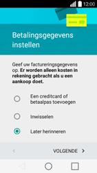 LG Leon 3G (H320) - apps - account instellen - stap 16