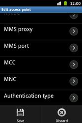 Samsung S6500D Galaxy Mini 2 - Internet - Manual configuration - Step 14