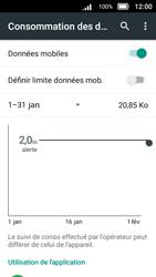 Doro 8031 - Internet et connexion - Désactiver la connexion Internet - Étape 7