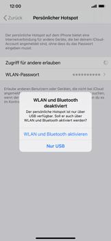 Apple iPhone 11 - iOS 14 - WiFi - So aktivieren Sie einen WLAN-Hotspot - Schritt 7