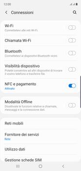 Samsung Galaxy Note 10 - Rete - Come attivare la connessione di rete 4G - Fase 5