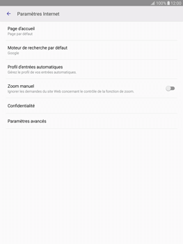 Samsung T815 Galaxy Tab S2 9.7 - Internet - Configuration manuelle - Étape 22