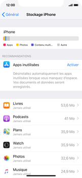 Apple iPhone XS - Applications - Comment désinstaller une application - Étape 8