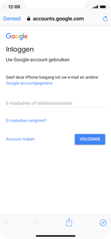 Apple iPhone XS - E-mail - Handmatig instellen (gmail) - Stap 6