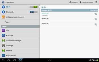 Samsung Galaxy Tab 2 10.1 - WiFi - Configuration du WiFi - Étape 7