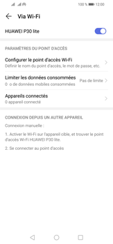 Huawei P30 Lite - Internet - comment configurer un point d'accès mobile - Étape 13