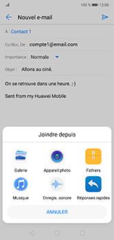 Huawei P20 lite - E-mails - Envoyer un e-mail - Étape 11