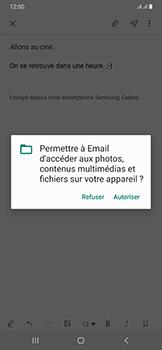 Samsung Galaxy A50 - E-mail - envoyer un e-mail - Étape 13