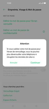 Oppo Reno 4 Pro - Sécuriser votre mobile - Activer le code de verrouillage - Étape 6