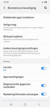 Samsung Galaxy A40 - Beveiliging - Stel de pincode voor je simkaart in - Stap 5