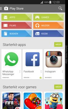 Samsung Galaxy Note Edge - apps - app store gebruiken - stap 4