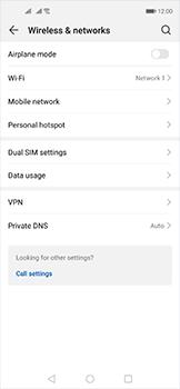 Huawei Nova 5T - WiFi - Enable WiFi Calling - Step 5