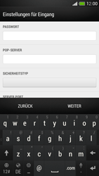 HTC One Mini - E-Mail - Manuelle Konfiguration - Schritt 9