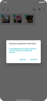 OnePlus 7T Pro - Photos, vidéos, musique - Envoyer une photo via Bluetooth - Étape 10