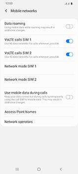 Samsung Galaxy S20 Ultra 5G - Internet and data roaming - Manual configuration - Step 8