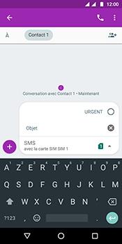 Motorola Moto G6 - Contact, Appels, SMS/MMS - Envoyer un MMS - Étape 10