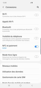 Samsung Galaxy S10 Plus - Internet et connexion - Accéder au réseau Wi-Fi - Étape 5