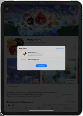 Apple iPad mini (2019) - iPadOS 13 - Apps - Installieren von Apps - Schritt 14