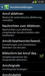 Samsung S7580 Galaxy Trend Plus - Anrufe - Anrufe blockieren - Schritt 6