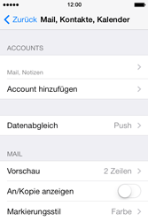 Apple iPhone 4 S - E-Mail - Konto einrichten - 27 / 29