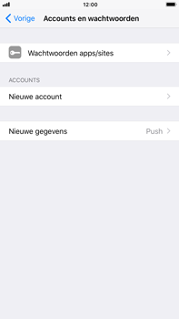 Apple iPhone 8 Plus - E-mail - Account instellen (IMAP met SMTP-verificatie) - Stap 4