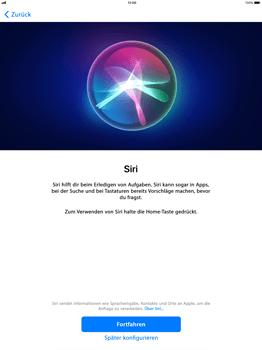 Apple iPad Pro 12.9 inch - iOS 11 - Persönliche Einstellungen von einem alten iPhone übertragen - 22 / 29