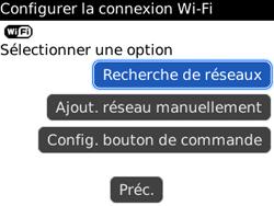 BlackBerry 8520 - Internet et connexion - Accéder au réseau Wi-Fi - Étape 6