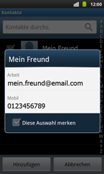 Samsung Galaxy S Plus - MMS - Erstellen und senden - 1 / 1