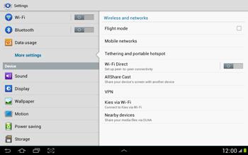 Samsung N8000 Galaxy Note 10-1 - Internet - Manual configuration - Step 5