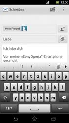 Sony Xperia T - E-Mail - E-Mail versenden - Schritt 9