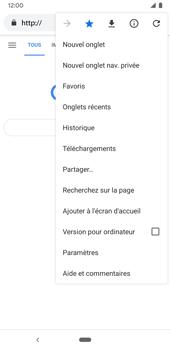 Google Pixel 3a - Internet et connexion - Naviguer sur internet - Étape 13