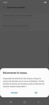 Samsung Galaxy Note 10 Plus 5G - Réseau - Sélection manuelle du réseau - Étape 8