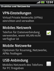 HTC A3333 Wildfire - Ausland - Auslandskosten vermeiden - Schritt 7