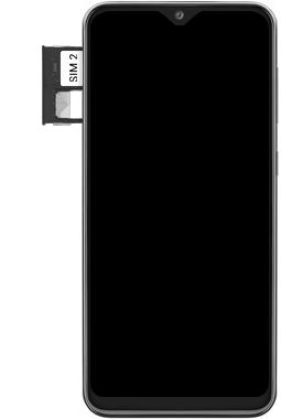 Samsung Galaxy A20e - Premiers pas - Insérer la carte SIM - Étape 6