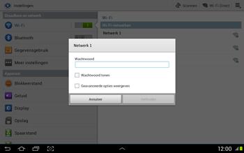 Samsung N8020 Galaxy Note 10-1 LTE - WiFi - Handmatig instellen - Stap 6