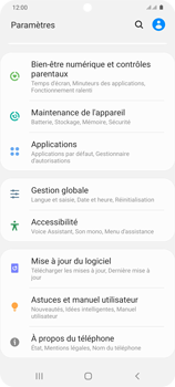 Samsung Galaxy S20+ - Applications - Supprimer une application - Étape 4