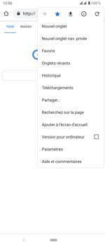 Sony Xperia 5 - Internet et roaming de données - Navigation sur Internet - Étape 13
