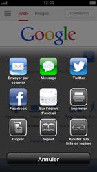 Apple iPhone 5 - Internet et roaming de données - Navigation sur Internet - Étape 5