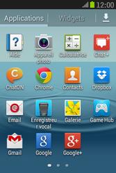 Samsung S6310 Galaxy Young - E-mail - Configuration manuelle - Étape 3