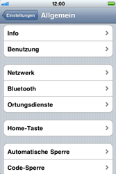 Apple iPhone 3G - Ausland - Im Ausland surfen – Datenroaming - 6 / 9