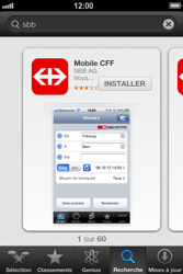 Apple iPhone 4S - Applications - Installation d