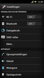 Sony ST26i Xperia J - Voicemail - handmatig instellen - Stap 4