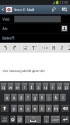 Samsung Galaxy S III - OS 4-1 JB - E-Mail - E-Mail versenden - 1 / 1