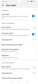 Huawei P30 Pro - Internet e roaming dati - Come verificare se la connessione dati è abilitata - Fase 6