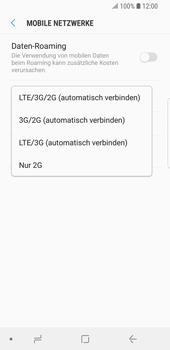 Samsung Galaxy S9 - Netzwerk - Netzwerkeinstellungen ändern - Schritt 7
