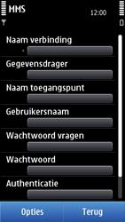Nokia N8-00 - MMS - handmatig instellen - Stap 15